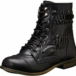 Rampage Justeyna Combat Boots